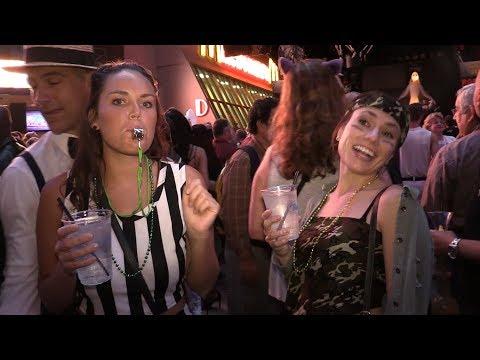 Halloween 2017 on Fremont Street - Las Vegas