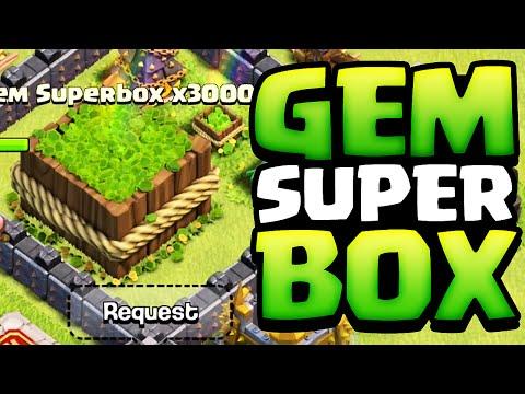 Clash of Clans ♦ INTRODUCING: The MEGA Gem Box! ♦