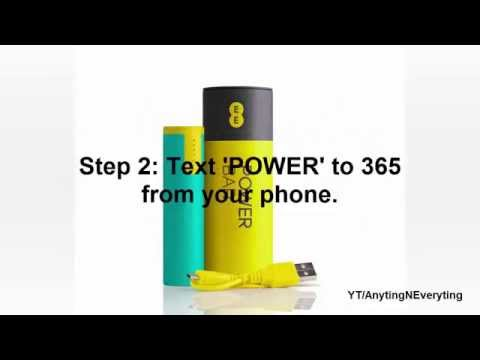 HOW TO GET A FREE EE POWER BAR/ PORTABLE CHARGER