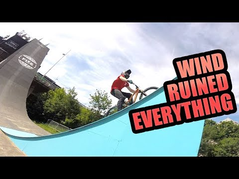 THE WIND RUINED EVERYTHING - FISE MTB SLOPESTYLE