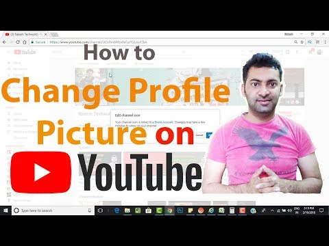How to Change YouTube Profile Picture Icon?