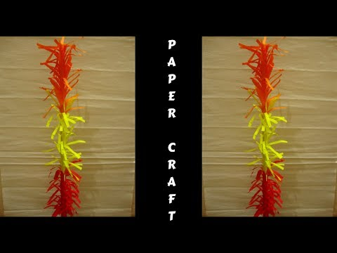 Indian paper art.Paper craft for kids.