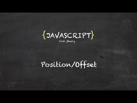 35. Curso grátis de Javascript | jQuery | Position e Offset