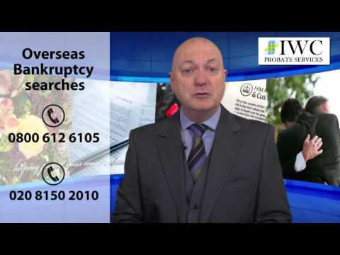 Overseas Bankruptcy Search