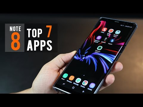 Top 7 Apps for Samsung Galaxy Note 8