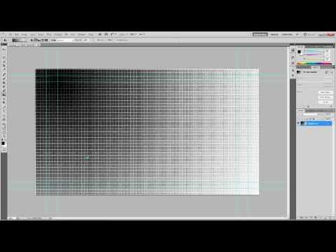 Photoshop CS5 - How to Use Halftones