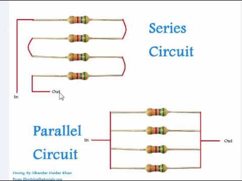 Series And Parallel Circuits Explanation Urdu & Hindi Video tutorial