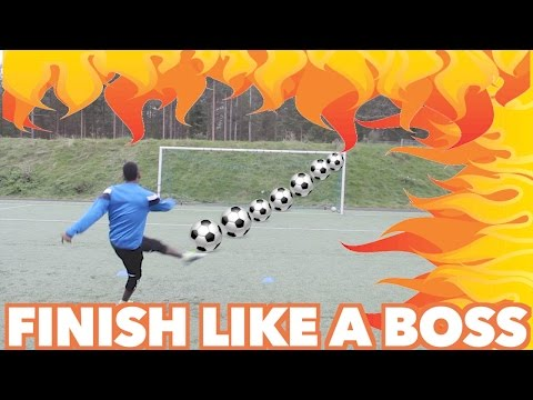ESSENTIAL SHOOTING DRILLS - How to score a Goal in soccer
