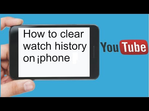 How to clear YouTube watch history on iPhone iPod iPad