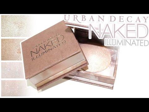 Review & Swatches: URBAN DECAY Naked Illuminated Shimmering Powders | Aura, Luminous