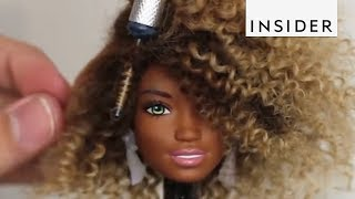 Artist Gives Dolls Modern Makeovers