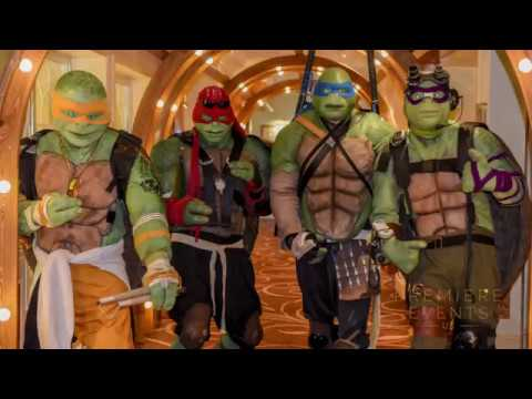 All Ninja Turtles Out and About from Premiere Events UK