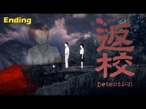 Detention ENDING 返校 Full Game Walkthrough Part 5 | SENPAI NOTICED ME | Horror Game Gameplay