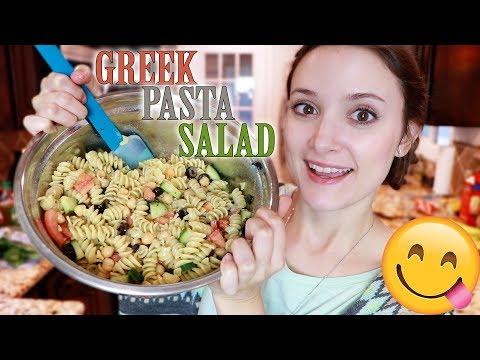 Summertime Greek Pasta Salad Recipe