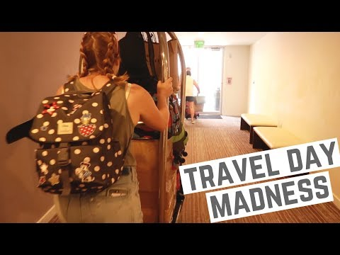 CRAZIEST TRAVEL DAY EVER! - Orlando, Florida to Manchester, England