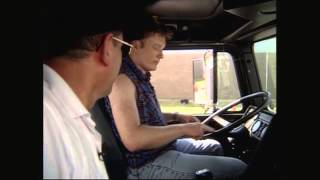 Conan Enrolls In Truck Driving School