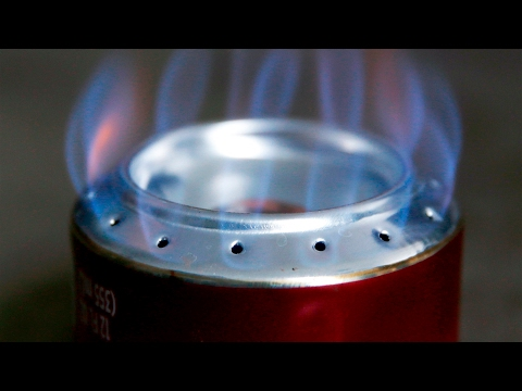 DIY Soda Can Stove