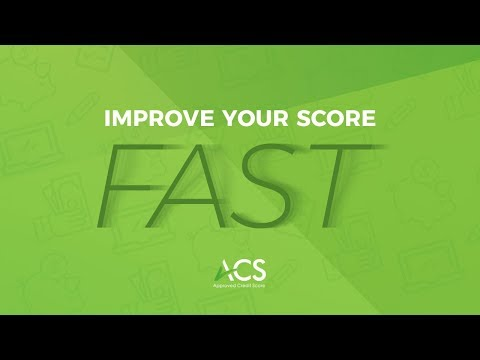 Improve your Credit Score FAST with 5 Main Factors