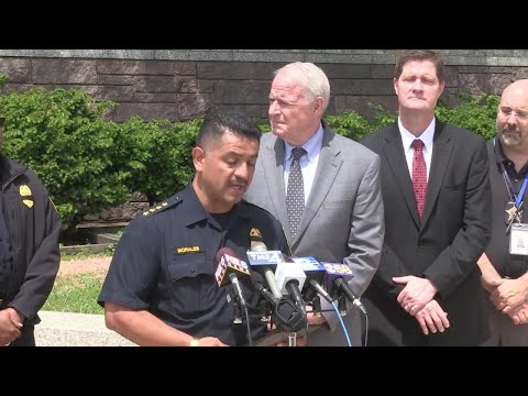 Milwaukee Police Chief Alfonso Morales comments following the death of MPD officer