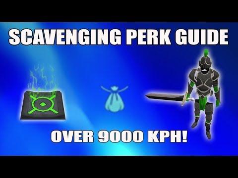 [Runescape 3] NO LONGER WORKING: Best way to use Scavenging Perk | Clan Citadel Battlefield