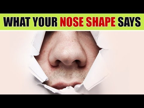 What Your Nose Shape Says About Your Personality
