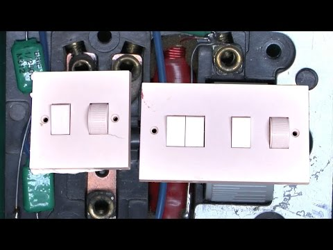 Mk Dimmer Switch Wiring Diagram : Bert shows you how to change a dimmer switch uk mk modular