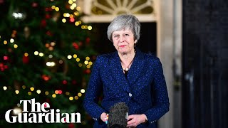 'Here is our renewed mission': Theresa May's speech after winning confidence vote