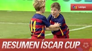 Resumen de RCD Espanyol (1-3) FC Barcelona - Final de la Íscar Cup - LaLiga Promises 2015/2016