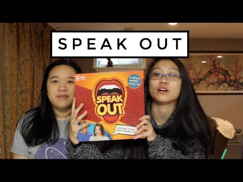 GUESS WHAT WE'RE SAYING || Speak Out Game