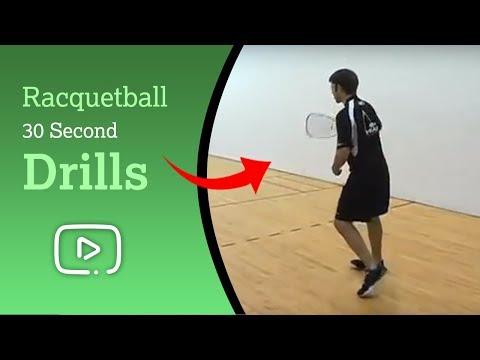 Play Better Racquetball - 30 Second Drills featuring Shane Vanderson