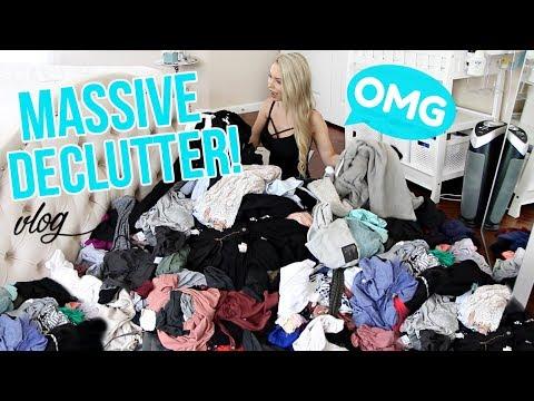 Massive Closet Declutter + Organization!