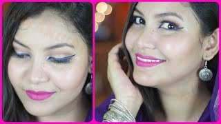 EID MAKEUP TUTORIAL/ gorgeous makeup/indian girl channel trisha