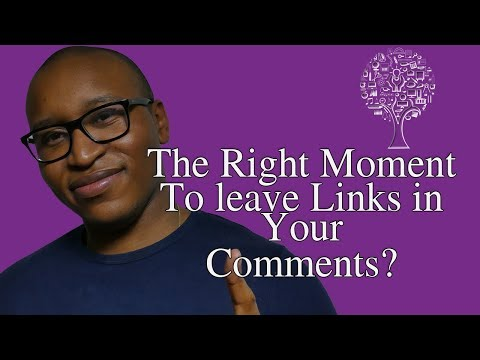 Posting Links in Your Youtube Comments?: Yes, No, It Depends