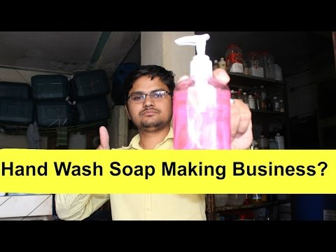 Hand Wash Soap Making Business