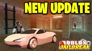 NEW ESCAPE UPDATE TONIGHT!?? Roblox Jailbreak NEW PRISON SEWER ESCAPE! | 🔴 Roblox Jailbreak LIVE