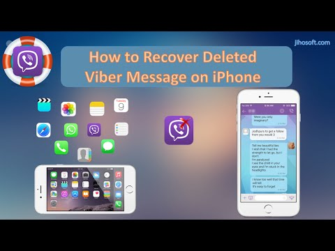 Top Two Ways to Recover Deleted Viber Messages on iPhone 7/SE/6S/6/5S/5C/5