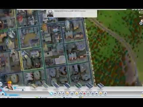 SimCity 5 800K+ city with no traffic problem