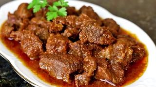 COMO HACER CARNE DE RES  GUISADA  😋😋😋  / Cocina & Bebe