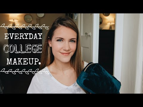 UNDER 7 MIN COLLEGE EVERYDAY MAKEUP ROUTINE + MY FAV PRODUCTS