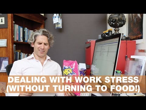 Dealing with work stress (without turning to food!) | Thursday Therapy #39