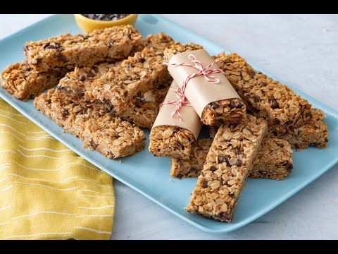 Chocolate Chip Granola Bars - Snack Recipes - Weelicious