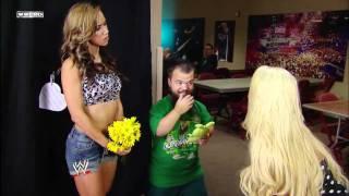 WWE NXT - AJ Lee, Hornswoggle & Maryse Segment (July 26, 2011)