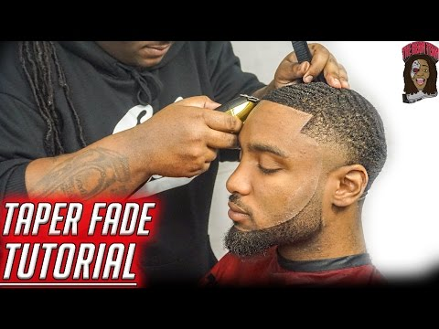 Barber Tutorial: How To Cut A Dark Caesar W/ Bald Taper!