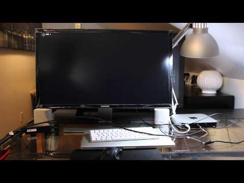 Samsung U28D590D 4K Display with 2014 Mac Mini & Retina Macbook Pro