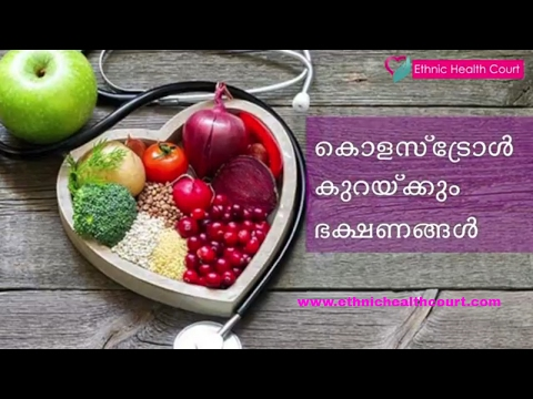Cholesterol Reducing Foods - foods which lower bad LDL cholesterol | Ethnic Health Court