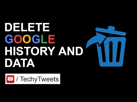 How to delete your Google search history and data