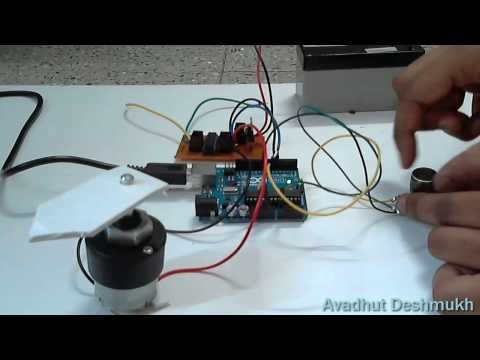 Potentiometer control DC Motor Position (DIY Servo) Using Arduino