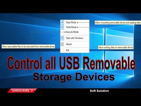 How to Control & Restrict Contents of USB Flash Drives on Your PC - Grant USB Read Write Permission