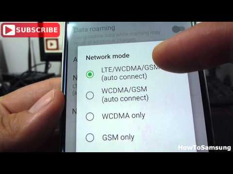 How To Turn Data 2G, 3G, 4G On or Off on Android Samsung Galaxy S6 Basic Tutorials