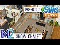 Sims FreePlay - Snow Chalet Template Prize (Early Access Preview)